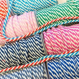 [357L] Double Woven Cotton Cord 2-Coloured