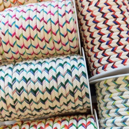[373L] Cord Herringbone Cotton Multi