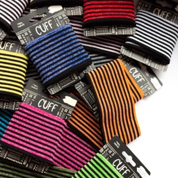 [551L] Cuff Stripes Lurex