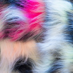 [S303R] Long Faux Fur Multi