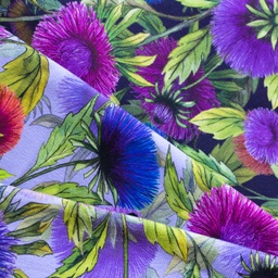 [S462R] Digital Printing Cornflower