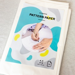 [682R-184503] [682R] Pattern Paper Transparant